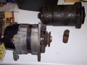 Triumph Herald Alternator Conversion (originally published in 2008)
