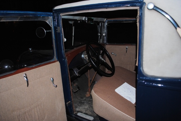 Model A Ford Interior