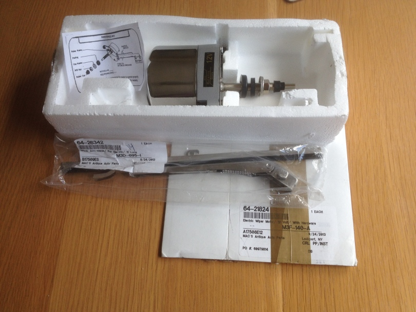 Have one to sell? Sell it yourself Details about  Classic Car Replacement Wiper Motor, Arm and Blade BNIB Model A
