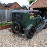 1929 Model A Tudor Barn Find