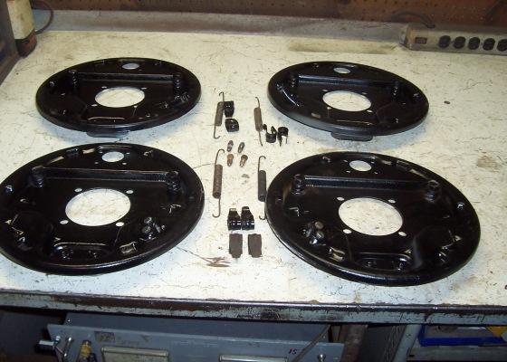 42 - 48 Backing Plates