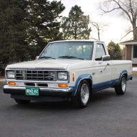 1987 Ford Ranger Survivor Ranger XLT with Low Mileage and Immaculate Condition, One Owner