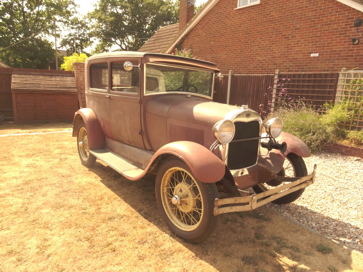 1929 Model A Ford Tudor Sedan For Sale - Update - Now Sold