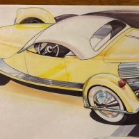 Rob Ida Concepts working to recreate Tucker's last car, the 1955 Carioca - Kurt Ernst @Hemmings